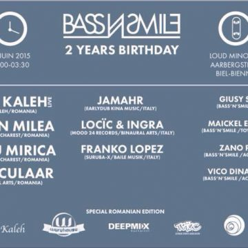 Live in Bienne – Switzerland (BassNsmile 2 Years Birthday)